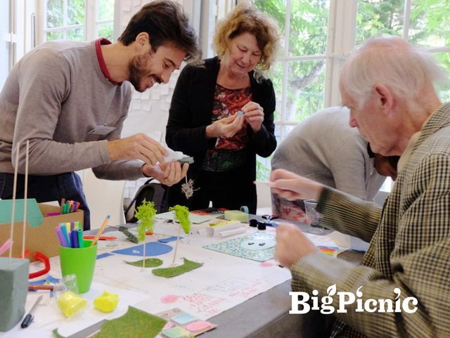BigPicnic Workshop in progress