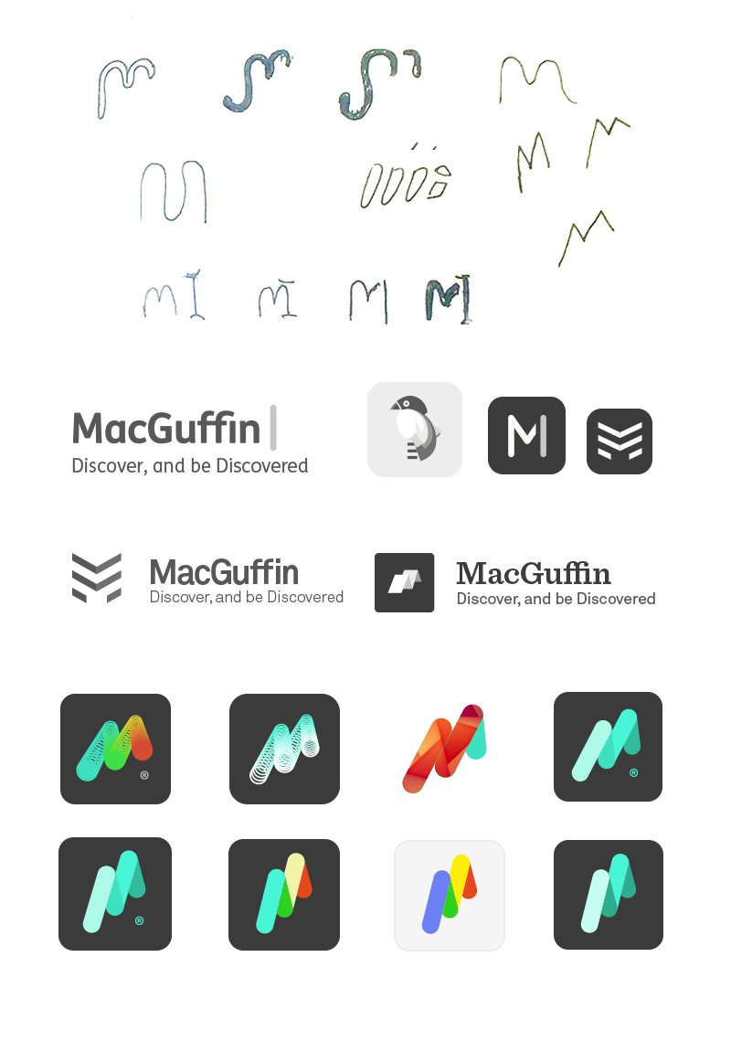 Macguffin logo progression