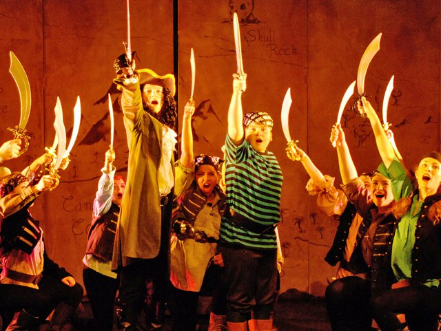 Peter Pan Pirates at Winchester Theatre Arts